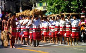 Dance troupe of Igorot (Bontoc tribe) of Philippine