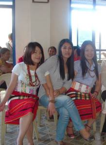 Igorot - the Bontoc tribe ladies in their traditional attires