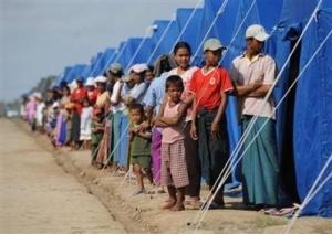 Burma refugees
