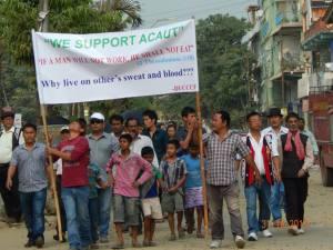 ACAUT Rally in Dimapur