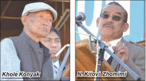 Khole Konyak and Kitovi