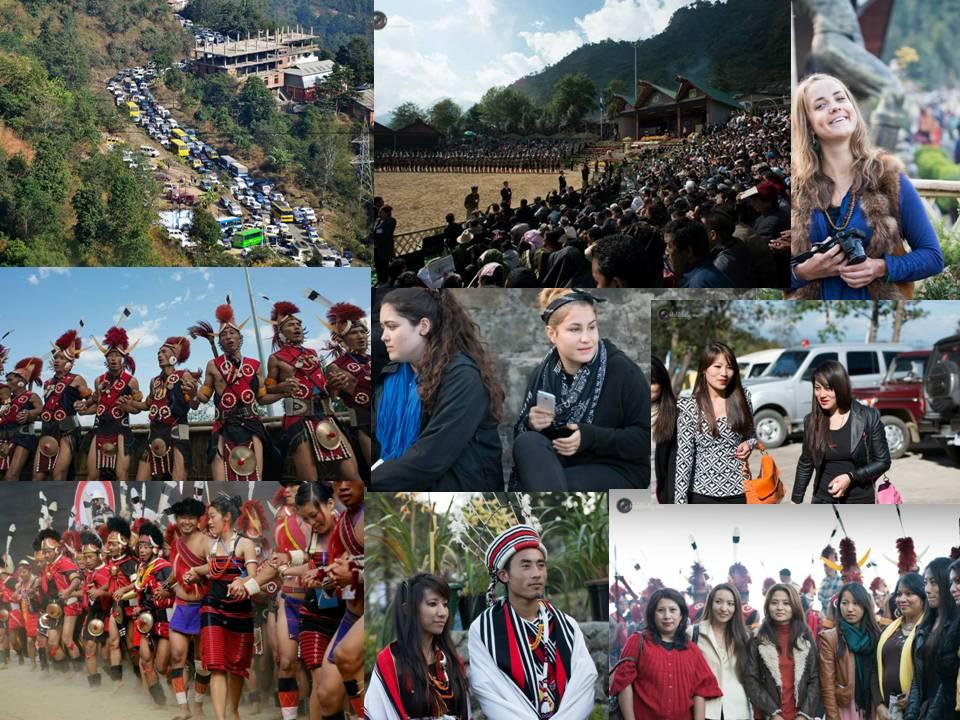 More Than 160,000 People Visit Naga Hornbill Festival | My